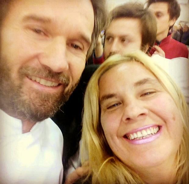 Con Carlo Cracco