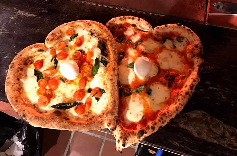 Pizza, incanto per gli occhi e per il palato
