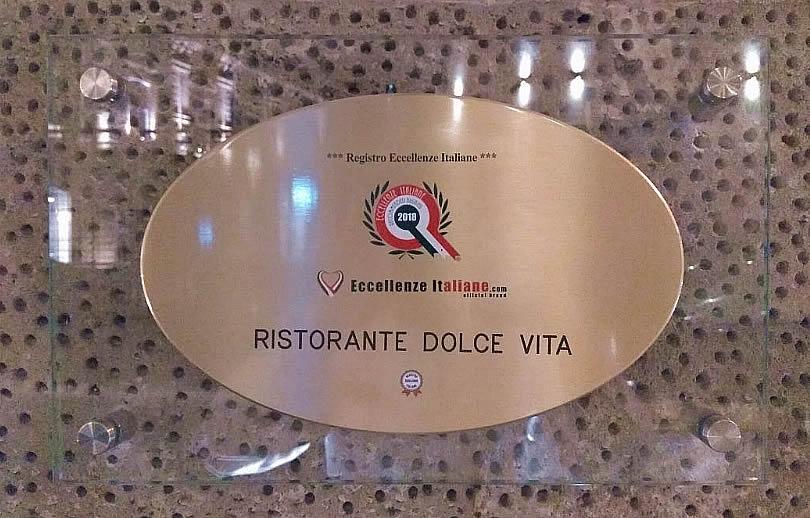Targa di Eccellenze Italiane