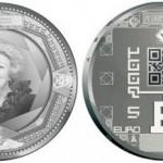 Dall'Olanda arriva la moneta da 5 euro col QR Code