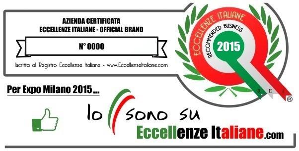Eccellenze Italiane tutela il tuo lavoro con la vetrofania anticontraffazione