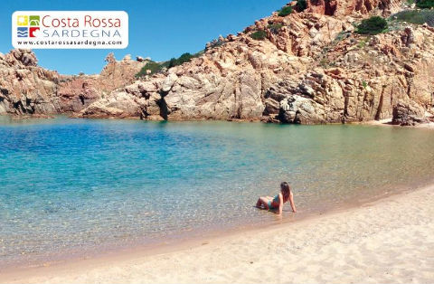 paesaggio della Costa Rossa, Sardegna