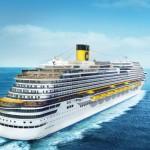 Lusso e tecnologie all'avanguardia, l'Ammiraglia Costa Diadema pronta a solcare le acque del Mediterraneo