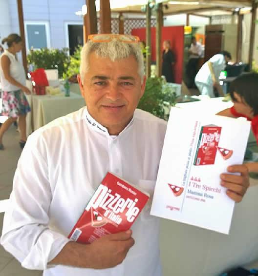 Il pizzaiolo Marcello D'Erasmo