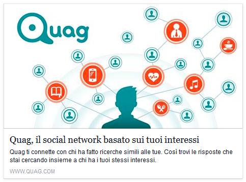 Quag, l'interest network basato sui tuoi interessi