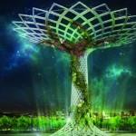 Expo Milano, crescono i rami dell'Albero della Vita