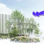 Ossigeno e frescura per far respirare l'Expo, ecco la foresta monumentale del padiglione austriaco