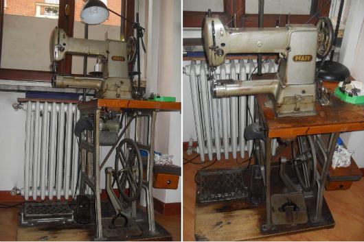 La macchina per cucire a braccio di nonna Adriana