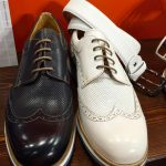 "bianco e nero (""Flecs"", the excellence o Neapolitan footwear)"